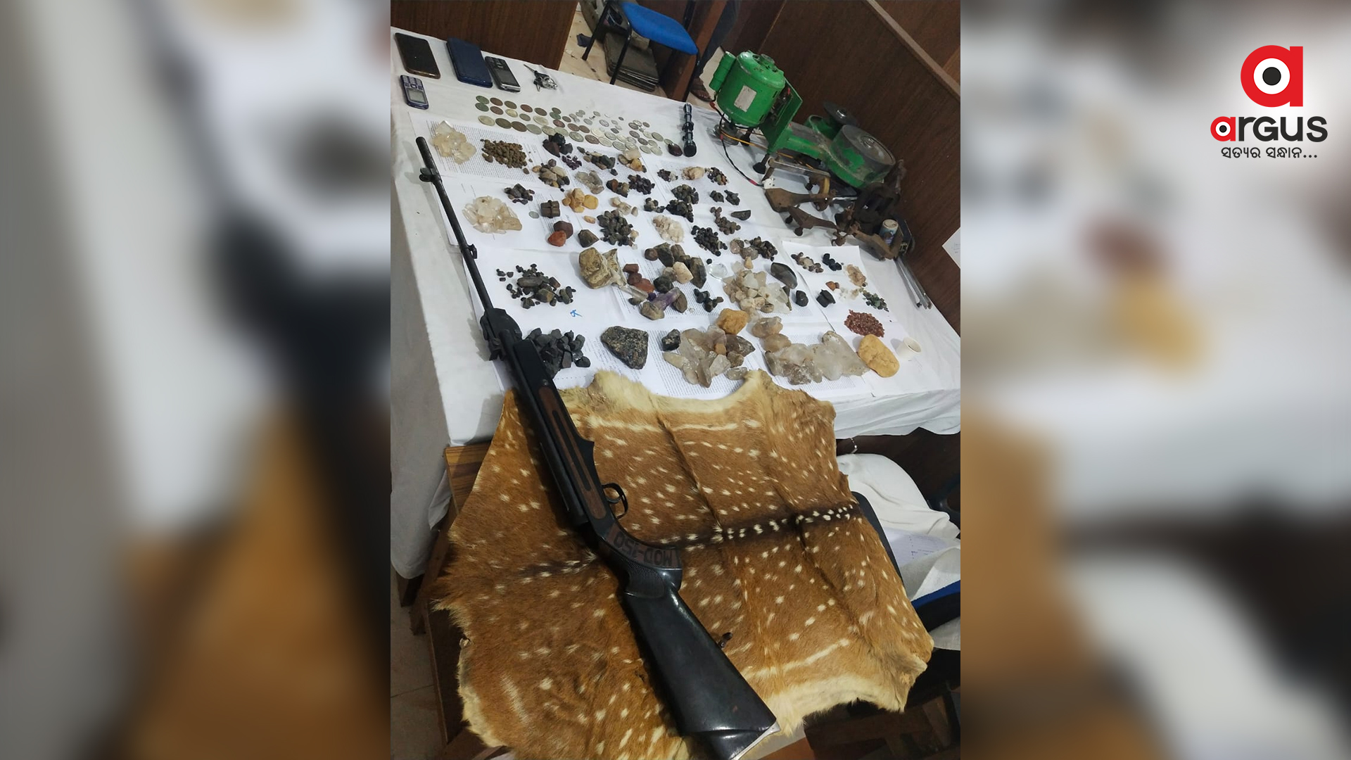Hanuman coin, wildlife racket busted in Malkangiri; 3 held