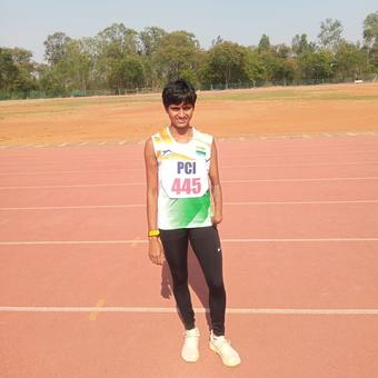 Jayanti Behera clinches golden treble Nat'l Para Athletics