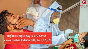Highest single-day 4,270 Covid cases pushes Odisha tally to 1,62,920