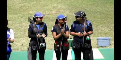 Shooting WC: India win gold in men's, women's team trap