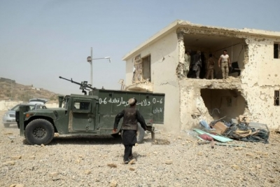 Operation launched to retake Afghan border district from Taliban