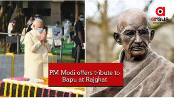 Nation celebrates 151 birth anniversary of 'Father of Nation',  PM Modi offered tribute at Rajghat