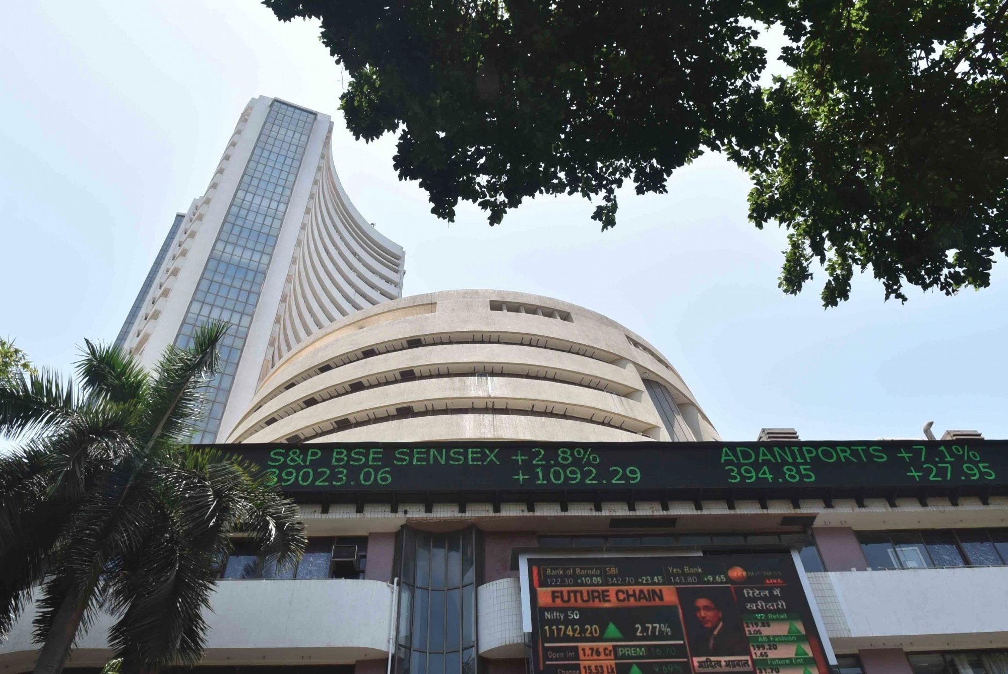 Sensex up 500 points; metal, finance stocks rise