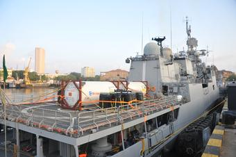 Covid-19: INS Tarkash brings medical oxygen consignment to Mumbai from Qatar