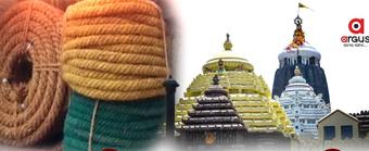 Ropes, to be used for Rath pulling & cordoning, reach Puri