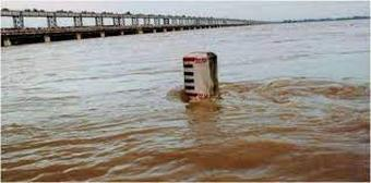 Water level of almost all rivers in Odisha receding