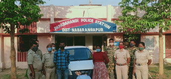 26 kg ganja seized, 2 arrested in Nabarangpur
