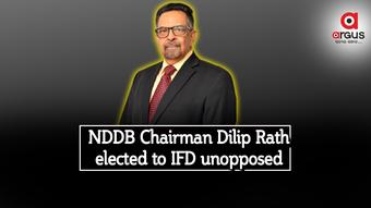 NDDB Chairman Dilip Rath elected to Int'l Dairy Federation Board unopposed