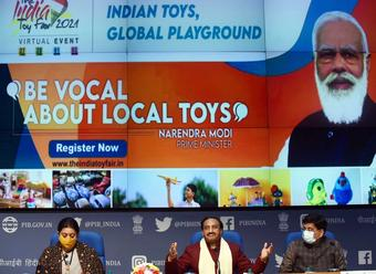 Govt launches website for 'India Toy Fair - 2021'
