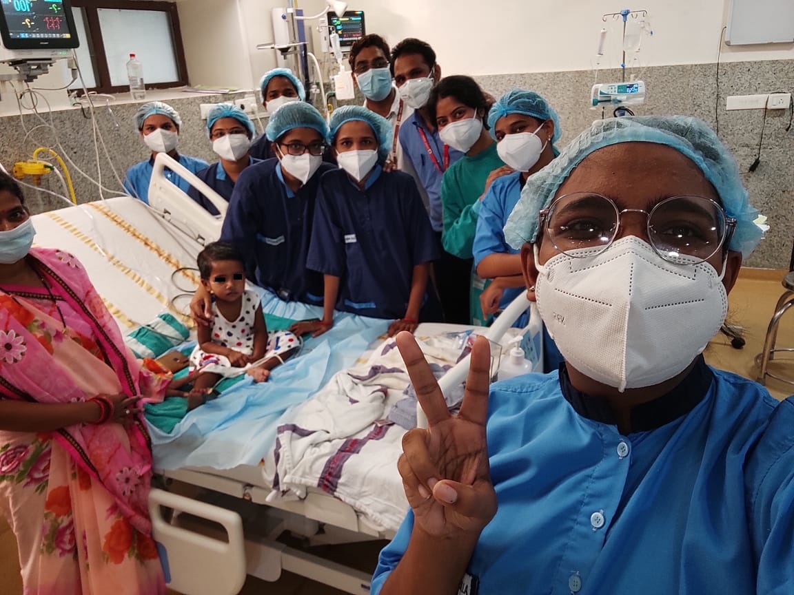 AIIMS Bhubaneswar's first patient on ECMO support successfully treated, discharged