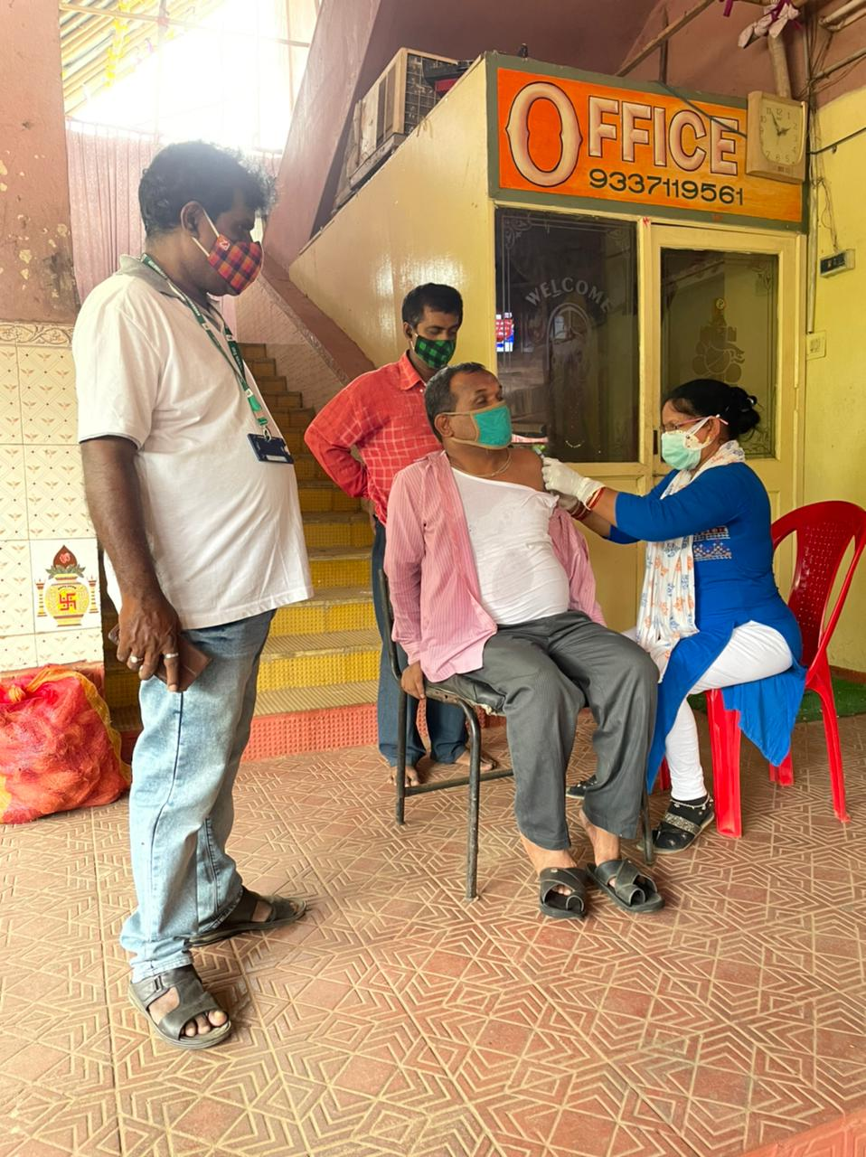 BMC vaccinates old age home, blind assn inmates
