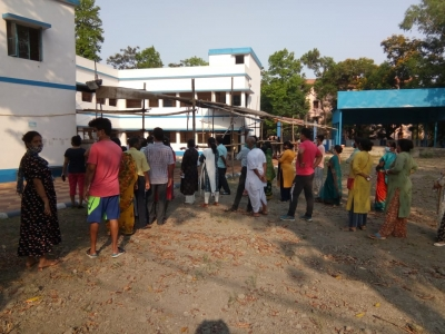 16.27% polling recorded in first 2 hrs in Bengal