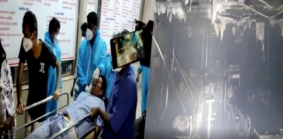 Palghar hospital fire kills 13 Covid patients; Prez, PM, CM express grief