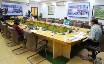 Covid-19: Harsh Vardhan interacts with Health Ministers of Odisha, seven other States/UT