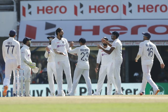 India vs England 2nd Test: India bowl England out for 134 in first innings, take 195-run lead