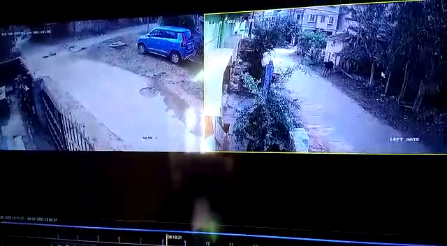 Child theft reported in city; act recorded in CCTV