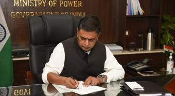 R.K. Singh takes charge as Minister of Power and Renewable Energy