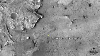 NASA names Mars rover touchdown site after Octavia Butler