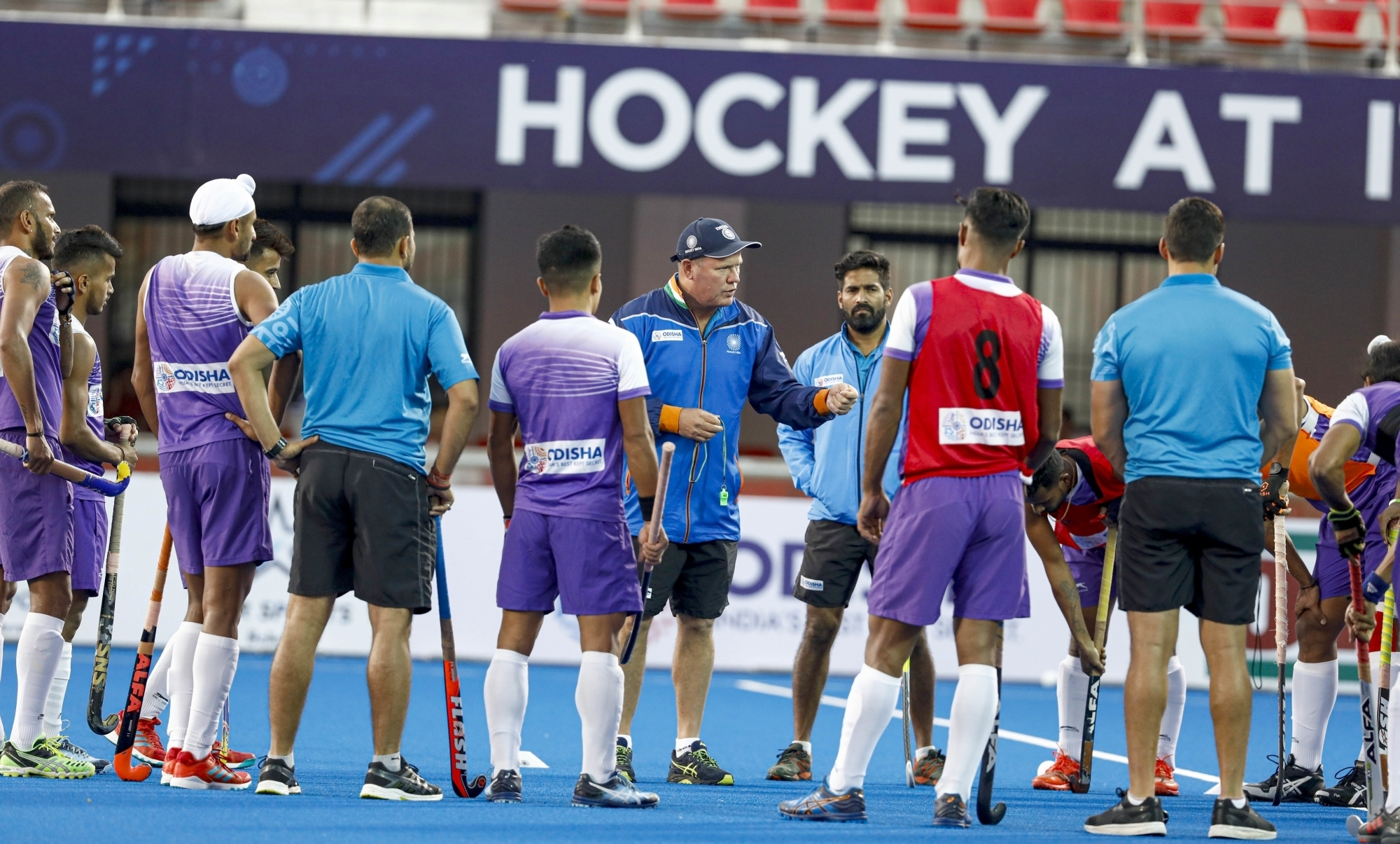 Hockey team ready to compete on the world stage, says Reid