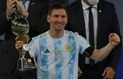Messi fifth time lucky as Argentina lift Copa America title