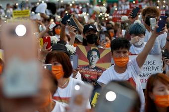 Death toll in Myanmar's anti-coup protests top 500