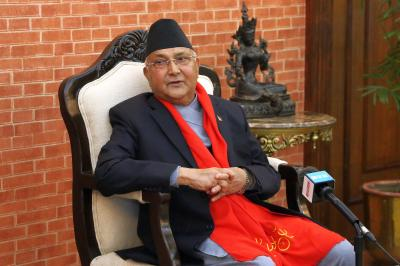 Oli reappointed as Nepal PM