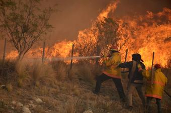 Argentina forest fire still not controlled
