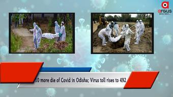 10 more die of Covid in Odisha; Virus toll rises to 492