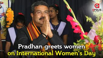 Pradhan greets women on International Women's Day