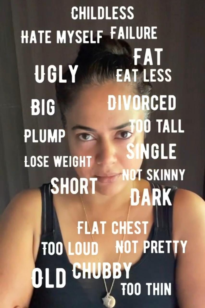 Sameera Reddy suggests loving your flaws for 'a happy you'
