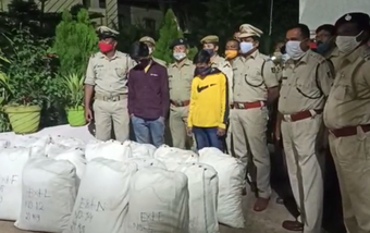 3.17 quintals of ganja seized in Nabarangpur, 2 held