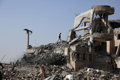 Saudi-led coalition launches airstrikes on rebel sites in Sanaa