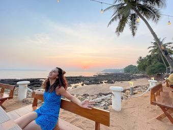 Taapsee Pannu enjoys her last off-day of 'Looop Lapeta' shoot