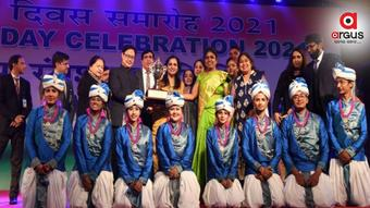 Sports Minister presents Republic Day 2021 awards
