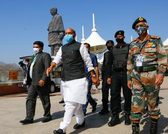 Rajnath discusses formation of theatre commands