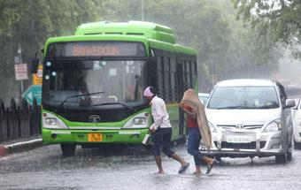Strong winds likely in Delhi & adjoining areas