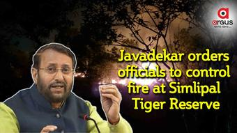 Javadekar orders officials to control fire at Simlipal Tiger Reserve