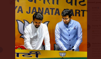 BJYM launches 'Cheer4India - Be Like an Olympian' campaign