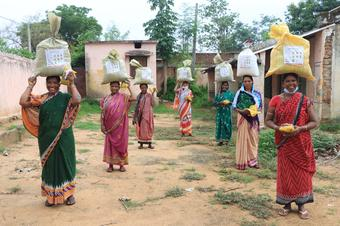 Supports pour in for pandemic-hit ultra-poor in  Bolangir's Muribahal