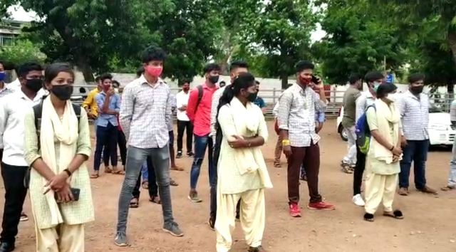 Odisha: Students demand cancellation of Plus II exam