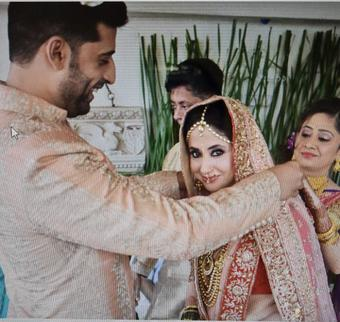 Urmila offers a glimpse into her 'precious mangalsutra moment' on fifth anniversary