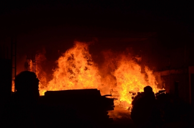 20 injured in Afghan dry port blaze