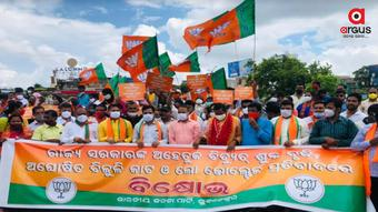 Odisha BJP launches week-long protest over power tariff hike