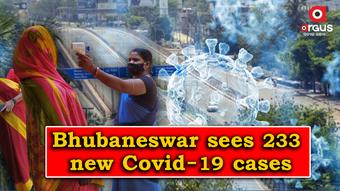 Bhubaneswar reports 233 new Covid-19 cases; Active cases stand at 2,065