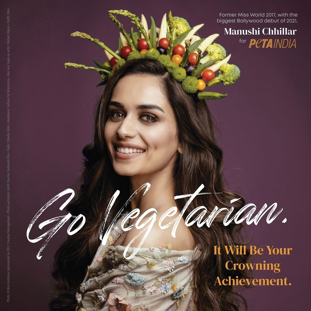 Manushi Chhillar: 'Give being vegetarian a try for Earth Day'