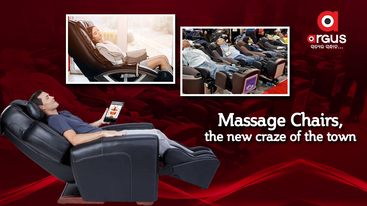 Massage chairs, the new craze of the town