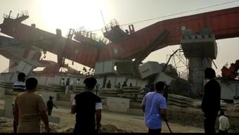 Under-construction flyover collapses on Dwarka expressway, 3 injured