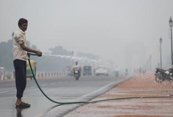 Mercury to touch 38C as Delhi's air quality turns 'very poor'