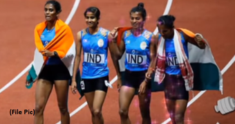 Indian women's 4x400m relay team pulls out of World Relays