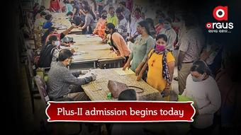 Plus-II admission begins today